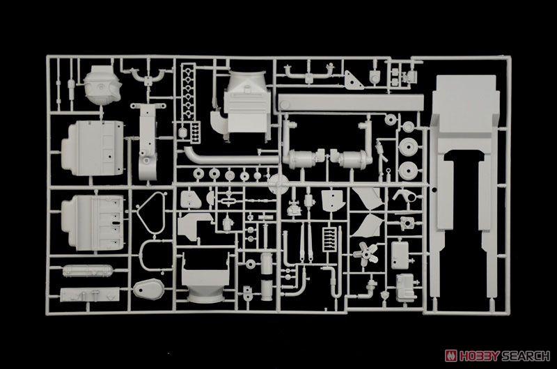 【再販】1/9『WW.II ドイツ軍 ケッテンクラート』プラモデル-012