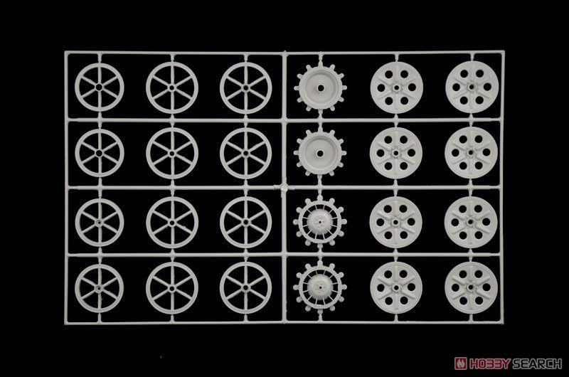 【再販】1/9『WW.II ドイツ軍 ケッテンクラート』プラモデル-016