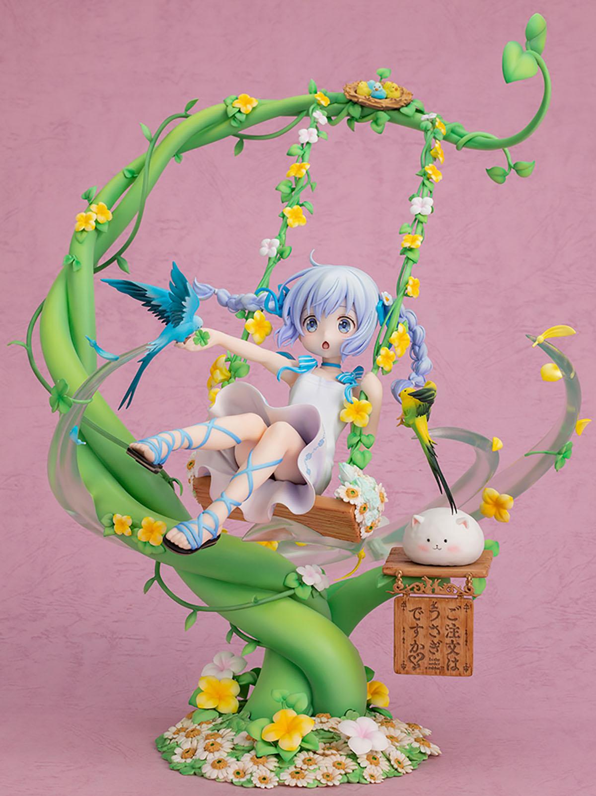 ご注文はうさぎですか??『チノ ~お花のブランコ~』1/7 完成品フィギュア-001