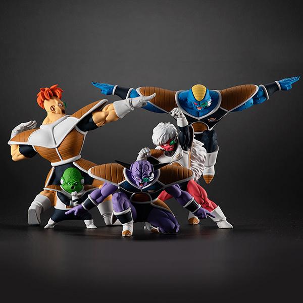 HGシリーズ『HGドラゴンボール ギニュー特戦隊セット』全5種