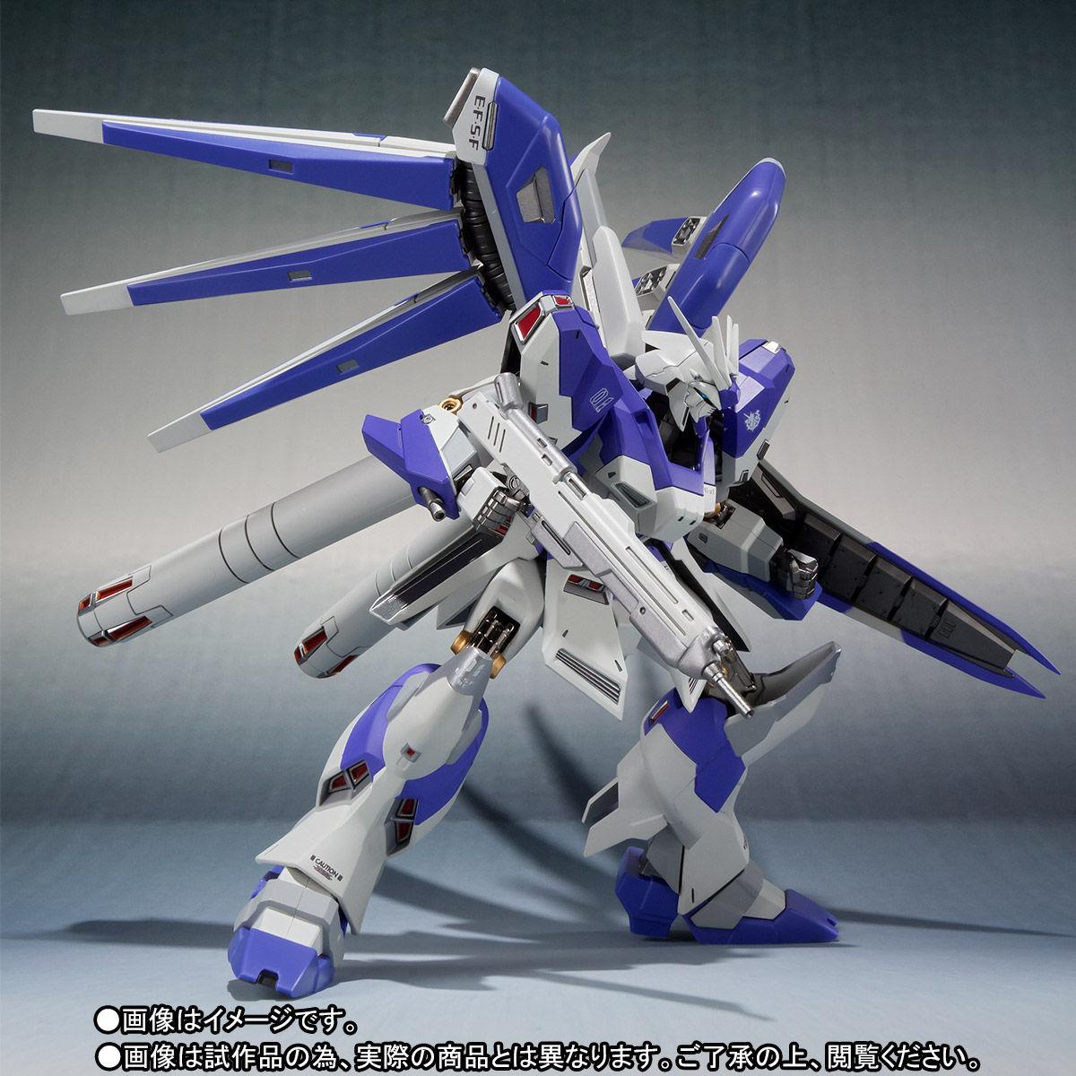 METAL ROBOT魂〈SIDE MS〉『Hi-νガンダム』逆襲のシャア 可動フィギュア-006