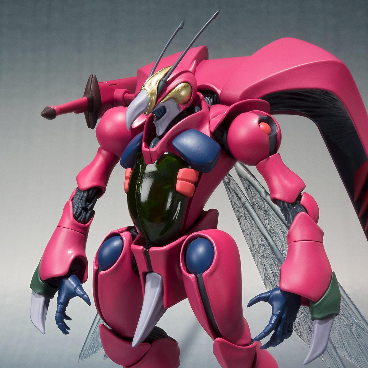 ROBOT魂〈SIDE AB〉『バストール』聖戦士ダンバイン 可動フィギュア-001