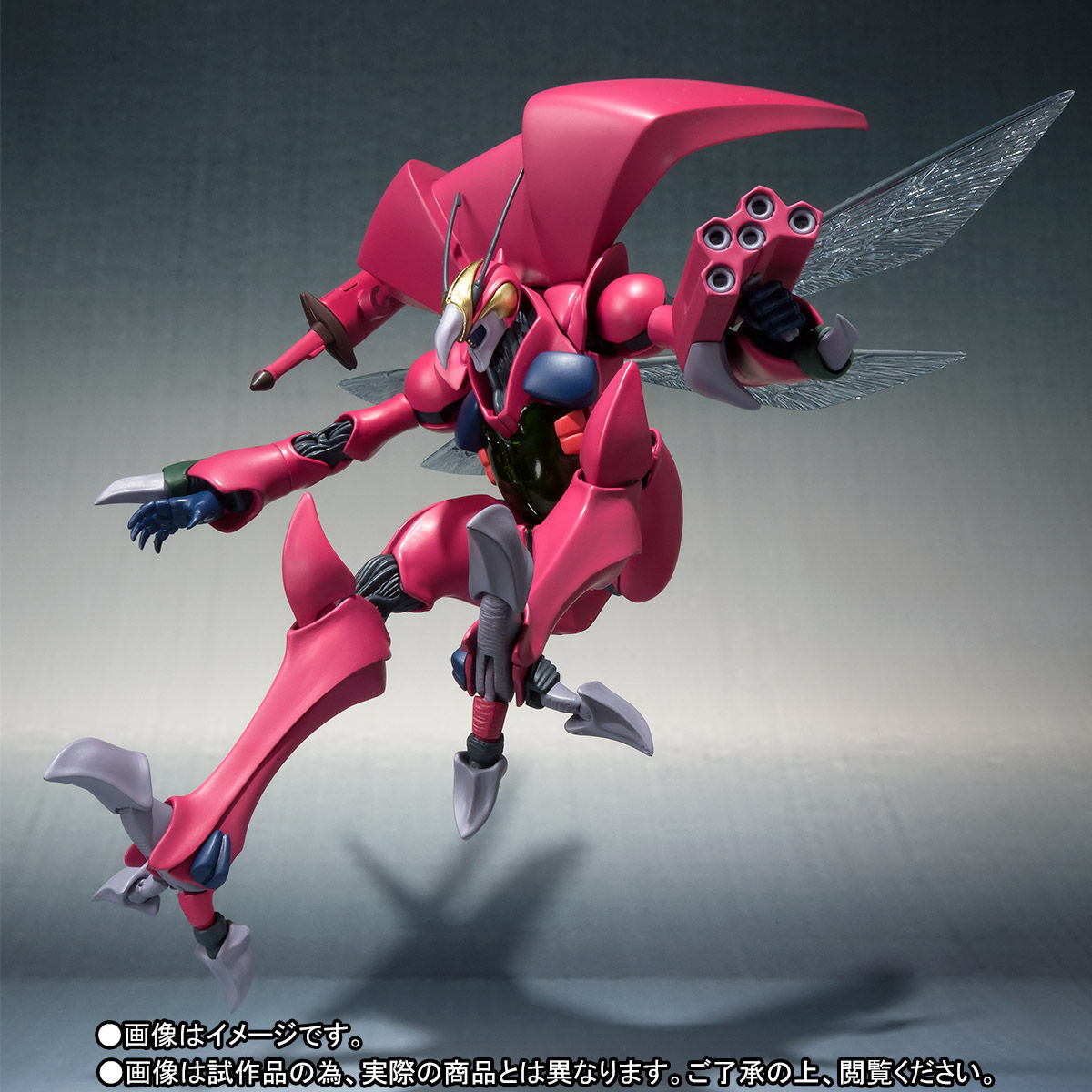 ROBOT魂〈SIDE AB〉『バストール』聖戦士ダンバイン 可動フィギュア-002