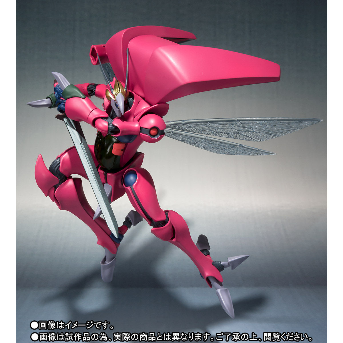 ROBOT魂〈SIDE AB〉『バストール』聖戦士ダンバイン 可動フィギュア-003