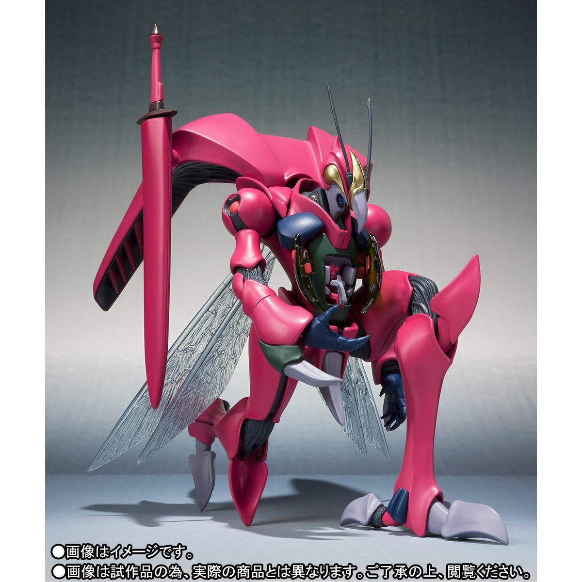 ROBOT魂〈SIDE AB〉『バストール』聖戦士ダンバイン 可動フィギュア-005