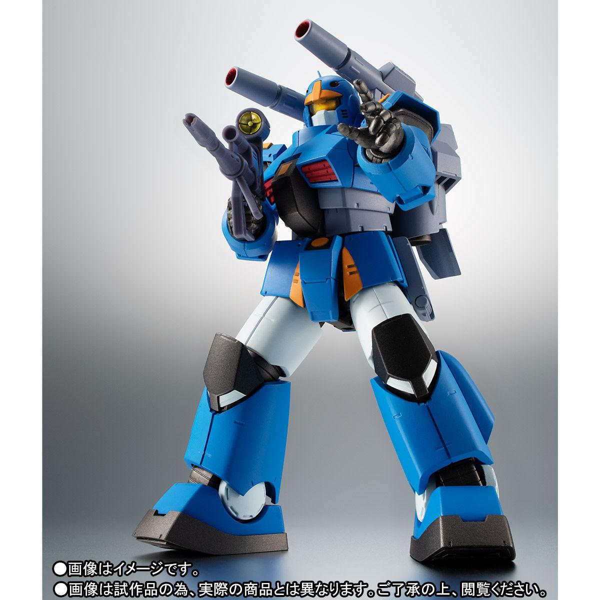 ROBOT魂〈SIDE MS〉『RX-77-3 ガンキャノン重装型 ver. A.N.I.M.E.』ガンダムMSV 可動フィギュア-002