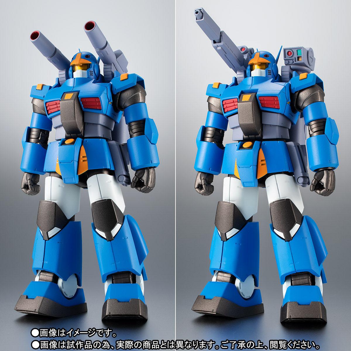 ROBOT魂〈SIDE MS〉『RX-77-3 ガンキャノン重装型 ver. A.N.I.M.E.』ガンダムMSV 可動フィギュア-008