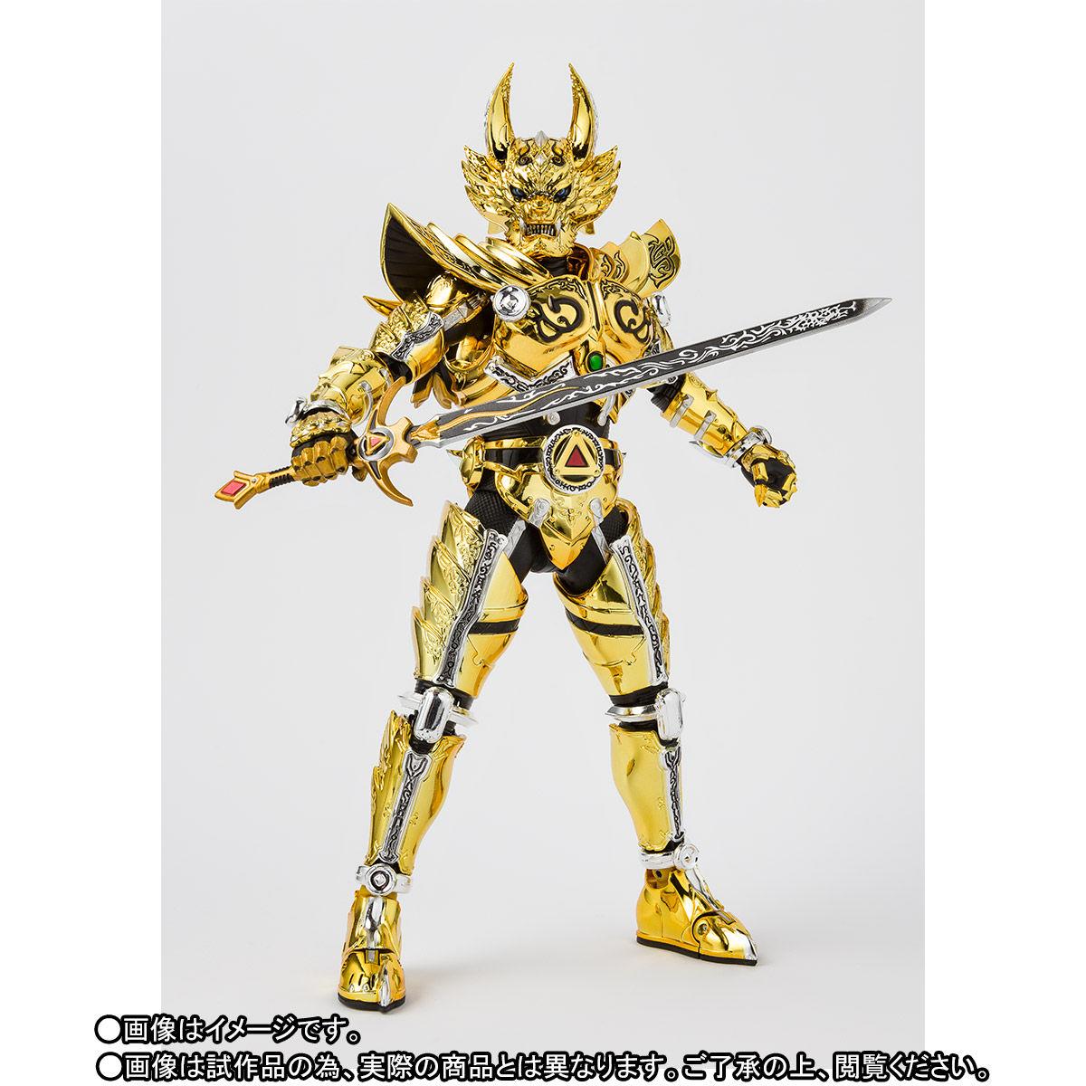 S.H.フィギュアーツ(真骨彫製法)『黄金騎士ガロ(冴島雷牙)』牙狼〈GARO〉可動フィギュア-002