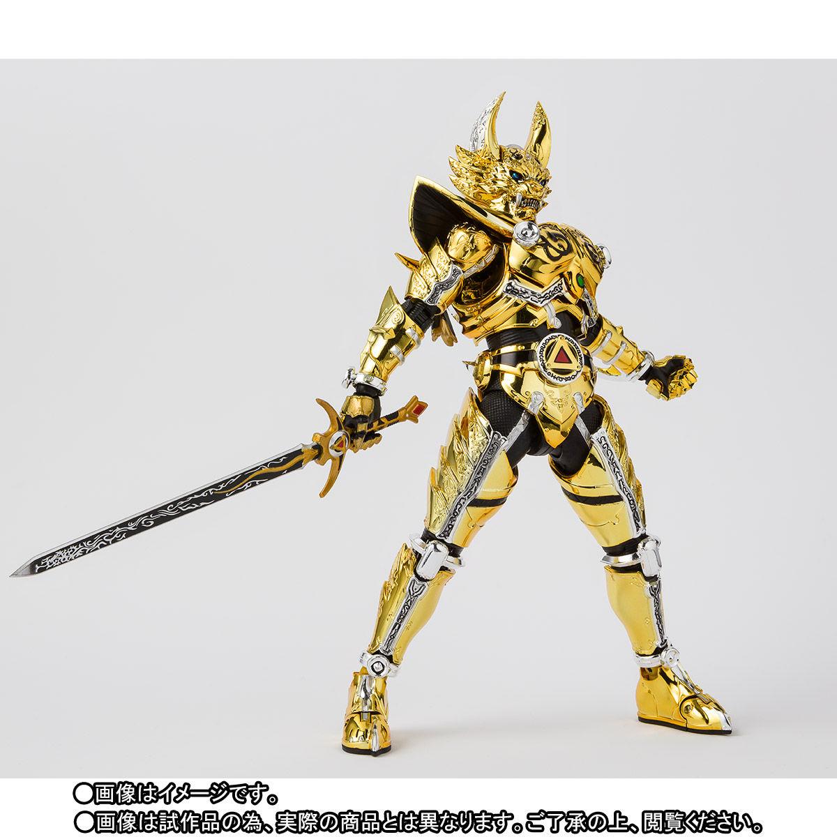 S.H.フィギュアーツ(真骨彫製法)『黄金騎士ガロ(冴島雷牙)』牙狼〈GARO〉可動フィギュア-005