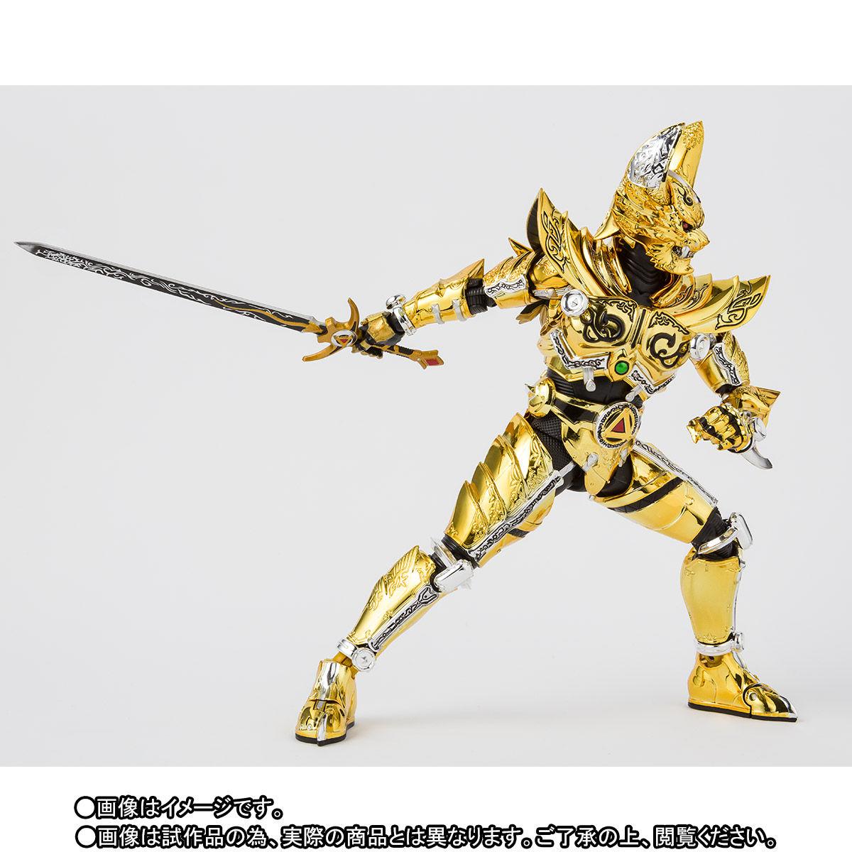 S.H.フィギュアーツ(真骨彫製法)『黄金騎士ガロ(冴島雷牙)』牙狼〈GARO〉可動フィギュア-006