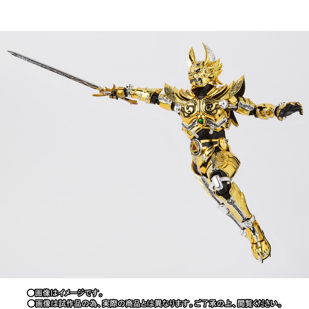 S.H.フィギュアーツ(真骨彫製法)『黄金騎士ガロ(冴島雷牙)』牙狼〈GARO〉可動フィギュア-007
