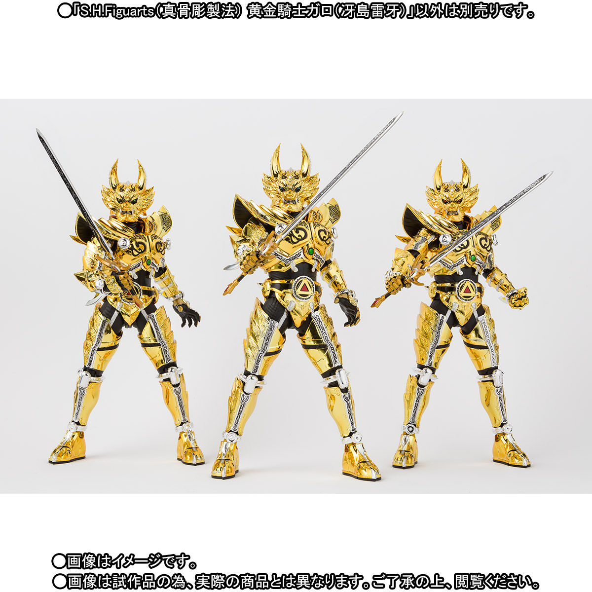 S.H.フィギュアーツ(真骨彫製法)『黄金騎士ガロ(冴島雷牙)』牙狼〈GARO〉可動フィギュア-009