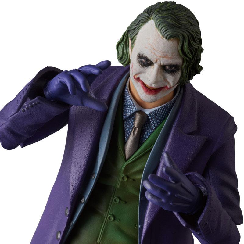 【再販】マフェックス No.51『ジョーカー/THE JOKER Ver.2.0』バットマン The Dark Knight 可動フィギュア-005