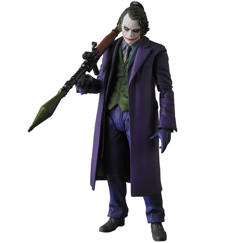 【再販】マフェックス No.51『ジョーカー/THE JOKER Ver.2.0』バットマン The Dark Knight 可動フィギュア-007