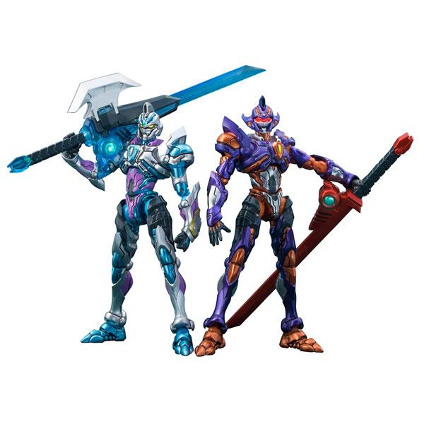 Actibuilder『グリッドナイト&グリッドマン(Initial fighter)セット』SSSS.GRIDMAN 可動フィギュア