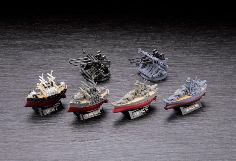 miniQ ミニチュアキューブ ワールドシップデフォルメ第4弾 『連合艦隊旗艦-大和・三笠-編』8個入りBOX-002