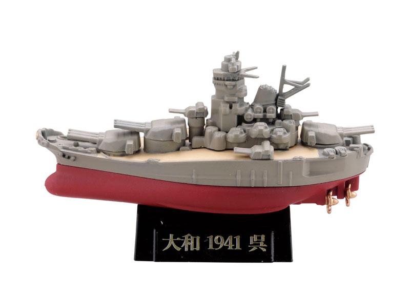miniQ ミニチュアキューブ ワールドシップデフォルメ第4弾 『連合艦隊旗艦-大和・三笠-編』8個入りBOX-003