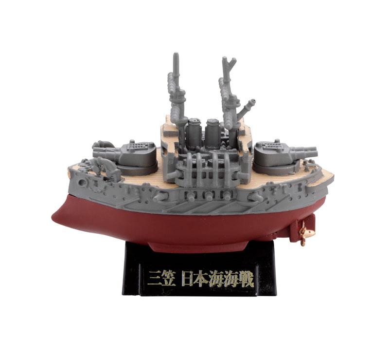 miniQ ミニチュアキューブ ワールドシップデフォルメ第4弾 『連合艦隊旗艦-大和・三笠-編』8個入りBOX-005