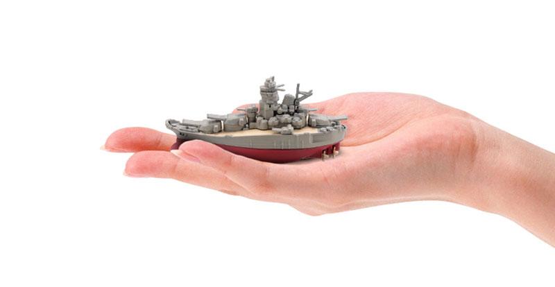 miniQ ミニチュアキューブ ワールドシップデフォルメ第4弾 『連合艦隊旗艦-大和・三笠-編』8個入りBOX-012