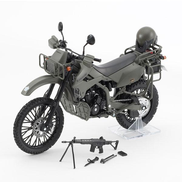 【再販】リトルアーモリー LM002『陸上自衛隊偵察オートバイ DX版』1/12 ミニカー