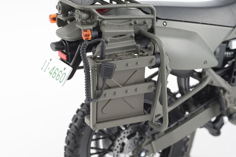 【再販】リトルアーモリー LM002『陸上自衛隊偵察オートバイ DX版』1/12 ミニカー-006
