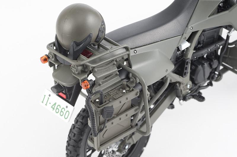 【再販】リトルアーモリー LM002『陸上自衛隊偵察オートバイ DX版』1/12 ミニカー-007