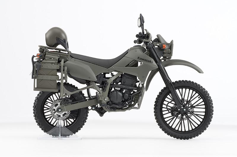 【再販】リトルアーモリー LM002『陸上自衛隊偵察オートバイ DX版』1/12 ミニカー-009