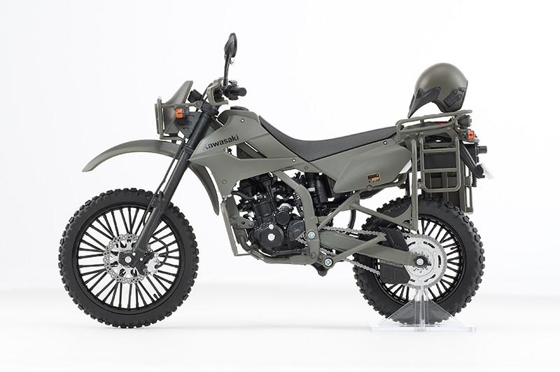 【再販】リトルアーモリー LM002『陸上自衛隊偵察オートバイ DX版』1/12 ミニカー-010