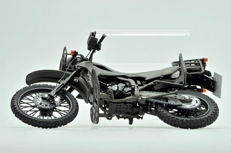 【再販】リトルアーモリー LM002『陸上自衛隊偵察オートバイ DX版』1/12 ミニカー-012