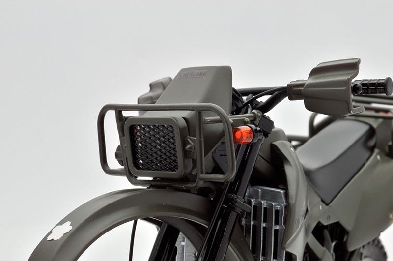 【再販】リトルアーモリー LM002『陸上自衛隊偵察オートバイ DX版』1/12 ミニカー-013