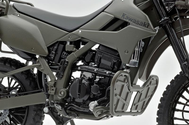 【再販】リトルアーモリー LM002『陸上自衛隊偵察オートバイ DX版』1/12 ミニカー-014