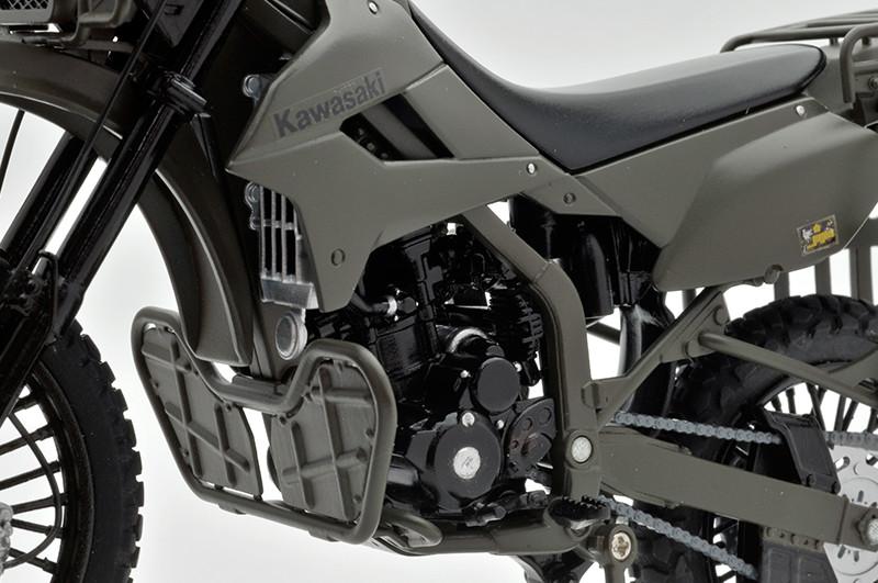 【再販】リトルアーモリー LM002『陸上自衛隊偵察オートバイ DX版』1/12 ミニカー-015