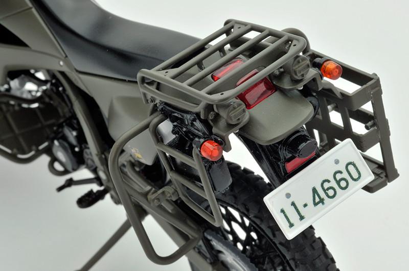【再販】リトルアーモリー LM002『陸上自衛隊偵察オートバイ DX版』1/12 ミニカー-016