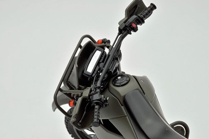 【再販】リトルアーモリー LM002『陸上自衛隊偵察オートバイ DX版』1/12 ミニカー-017