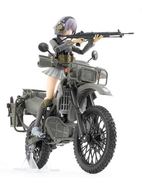 【再販】リトルアーモリー LM002『陸上自衛隊偵察オートバイ DX版』1/12 ミニカー-020