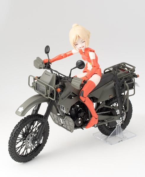 【再販】リトルアーモリー LM002『陸上自衛隊偵察オートバイ DX版』1/12 ミニカー-021