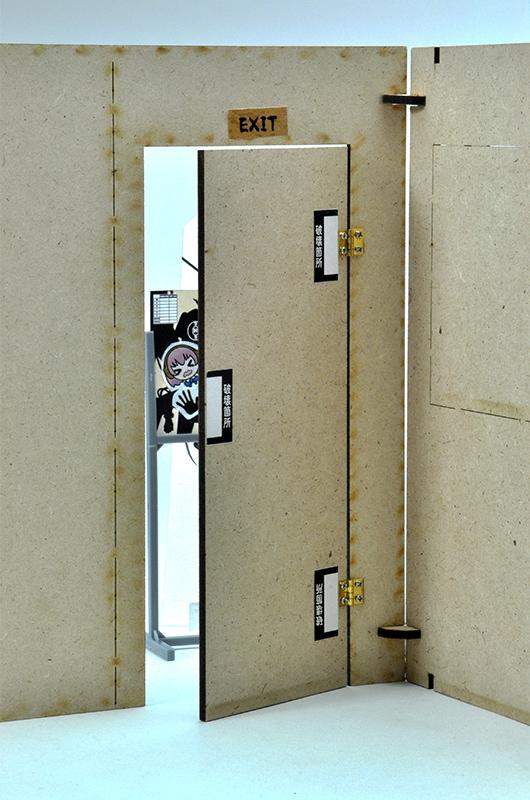 リトルアーモリー LD023『シュートハウスA』1/12 プラモデル-012