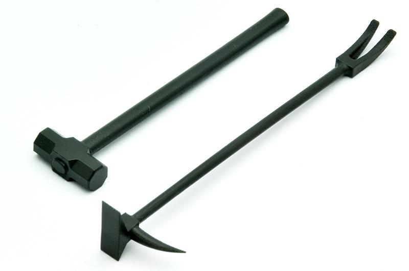 リトルアーモリー LD024『ブリーチングツールA 』1/12 プラモデル-004