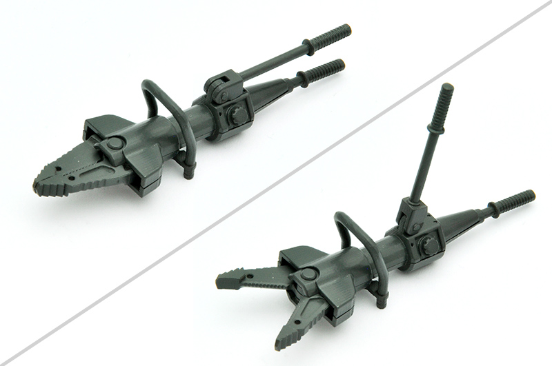 リトルアーモリー LD024『ブリーチングツールA 』1/12 プラモデル-005