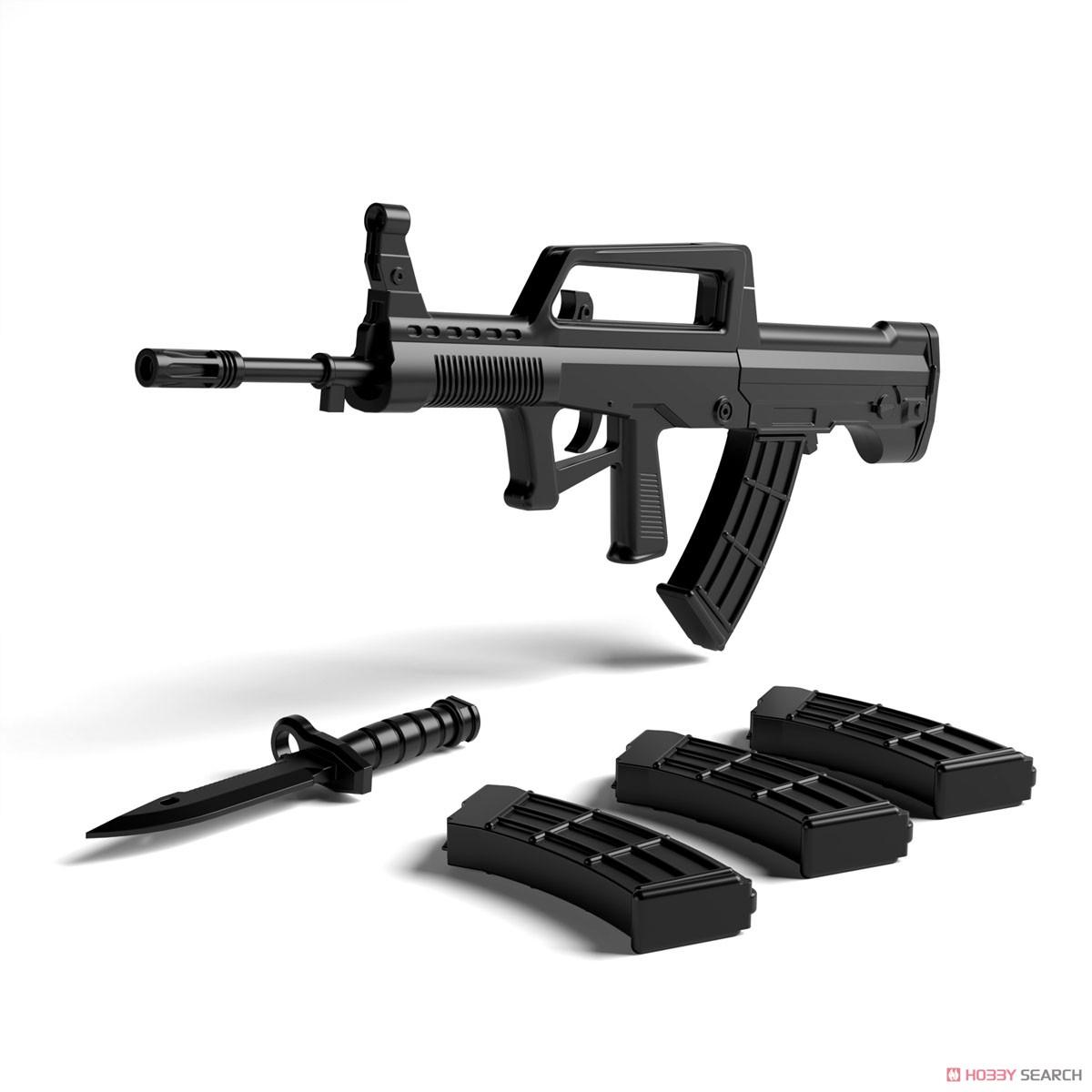 リトルアーモリー LADF01『ドールズフロントライン95式自動歩槍タイプ』1/12 プラモデル-003
