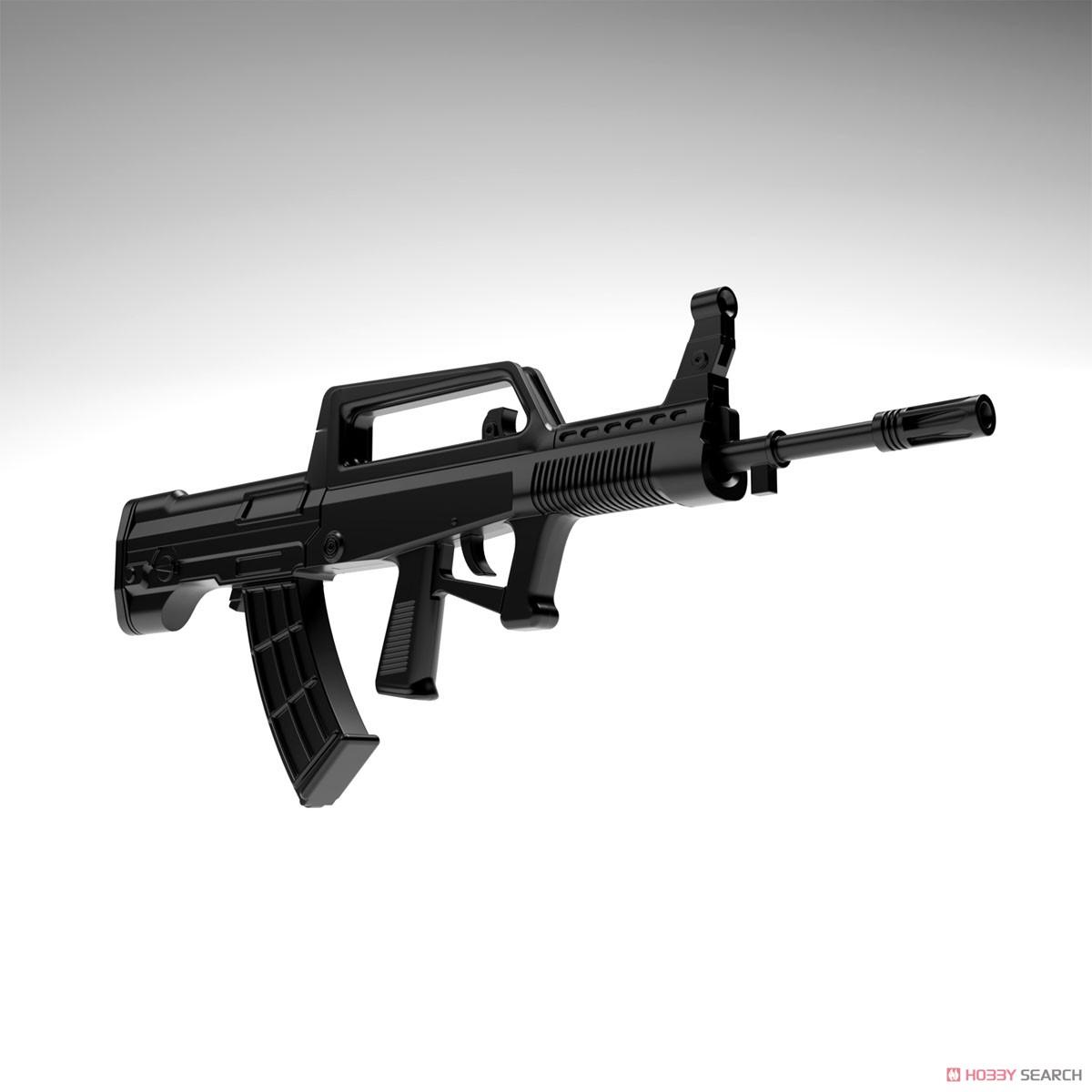 リトルアーモリー LADF01『ドールズフロントライン95式自動歩槍タイプ』1/12 プラモデル-004