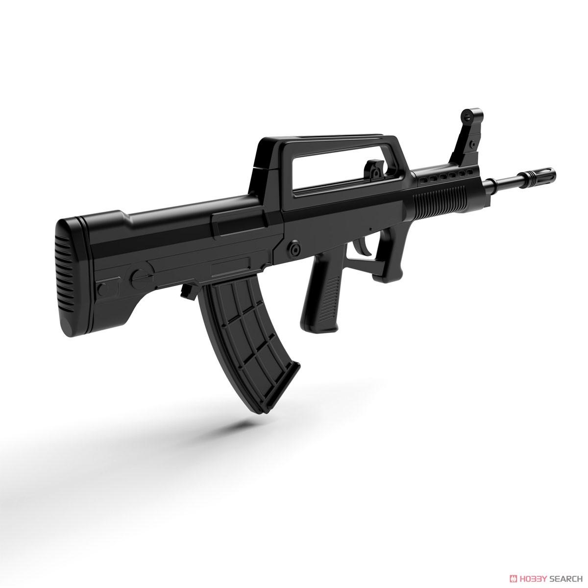 リトルアーモリー LADF01『ドールズフロントライン95式自動歩槍タイプ』1/12 プラモデル-005
