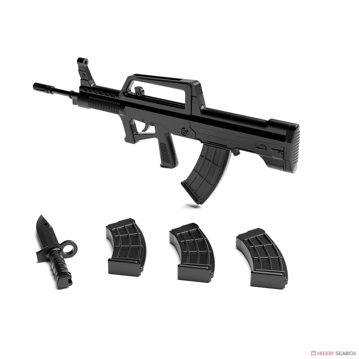 リトルアーモリー LADF01『ドールズフロントライン95式自動歩槍タイプ』1/12 プラモデル-006