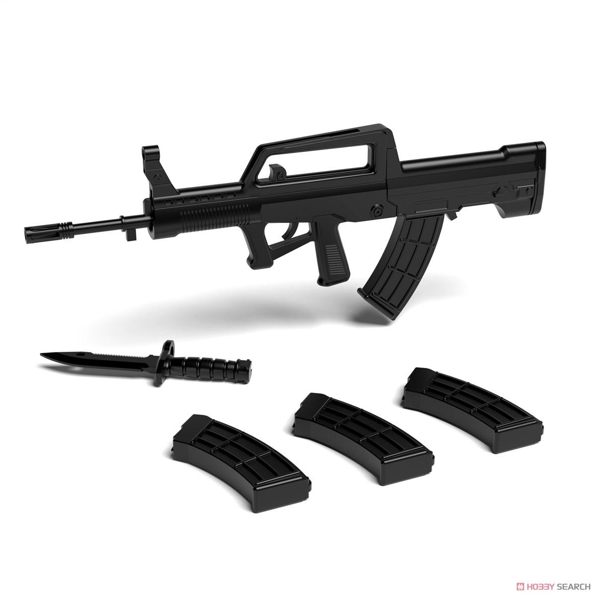 リトルアーモリー LADF01『ドールズフロントライン95式自動歩槍タイプ』1/12 プラモデル-008