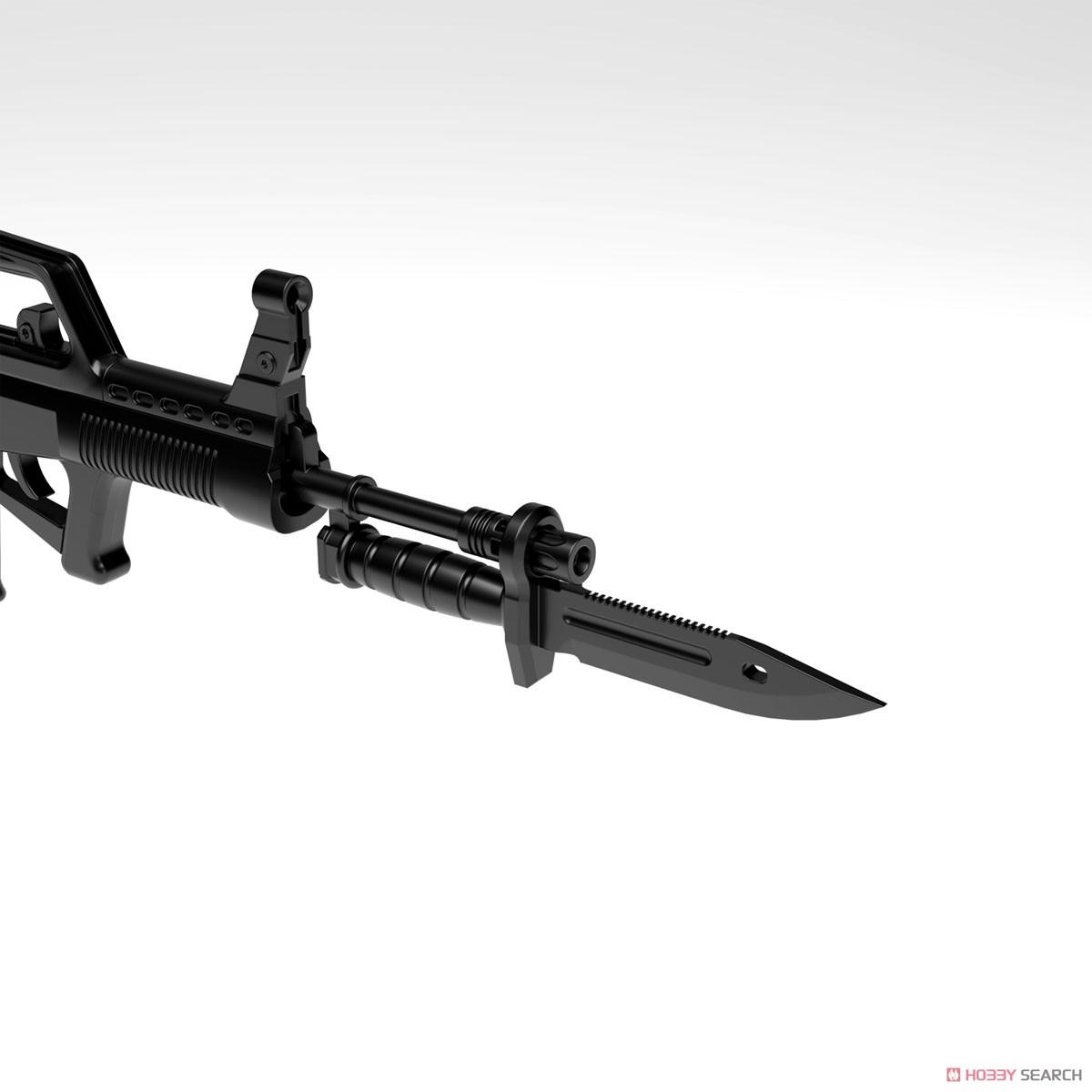 リトルアーモリー LADF01『ドールズフロントライン95式自動歩槍タイプ』1/12 プラモデル-009
