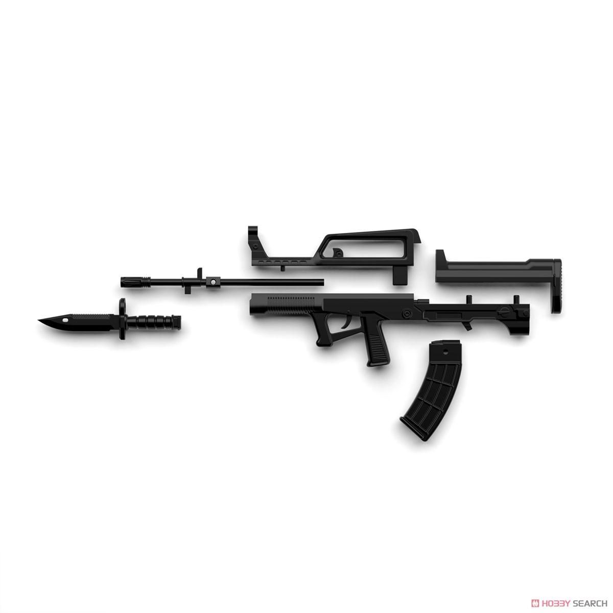 リトルアーモリー LADF01『ドールズフロントライン95式自動歩槍タイプ』1/12 プラモデル-010
