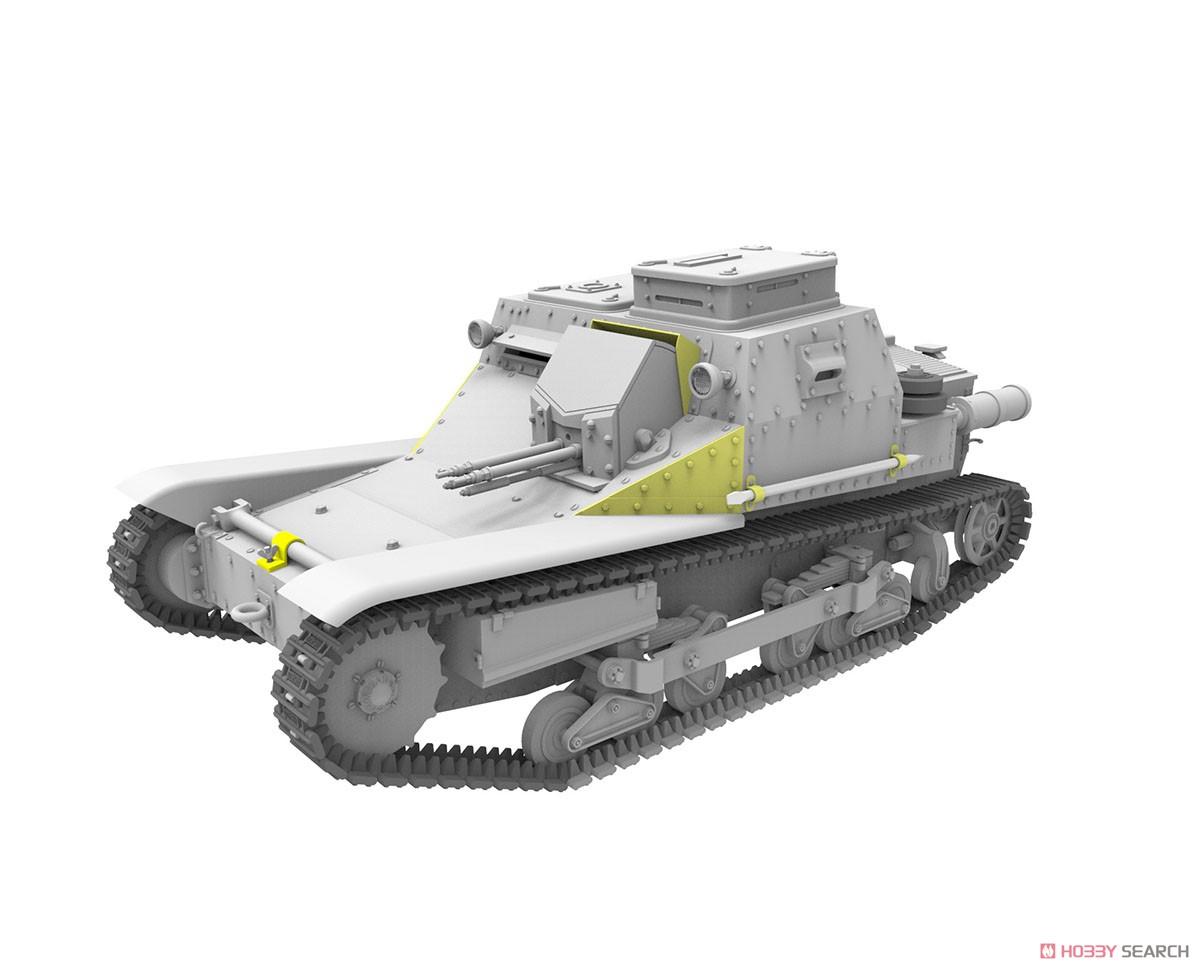 1/35『ハンガリー・CV-35.Mアンシャルド豆戦車&CV-35指揮型』プラモデル-004
