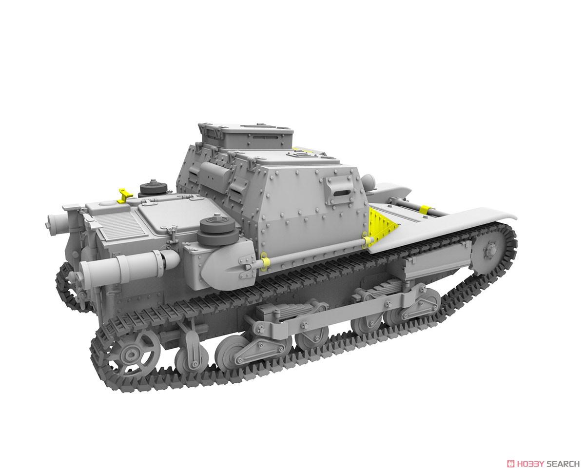 1/35『ハンガリー・CV-35.Mアンシャルド豆戦車&CV-35指揮型』プラモデル-005