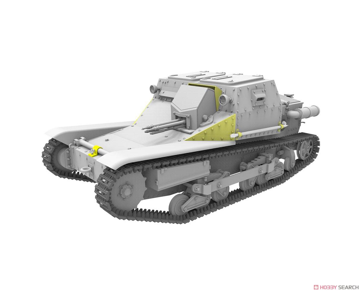 1/35『ハンガリー・CV-35.Mアンシャルド豆戦車&CV-35指揮型』プラモデル-006