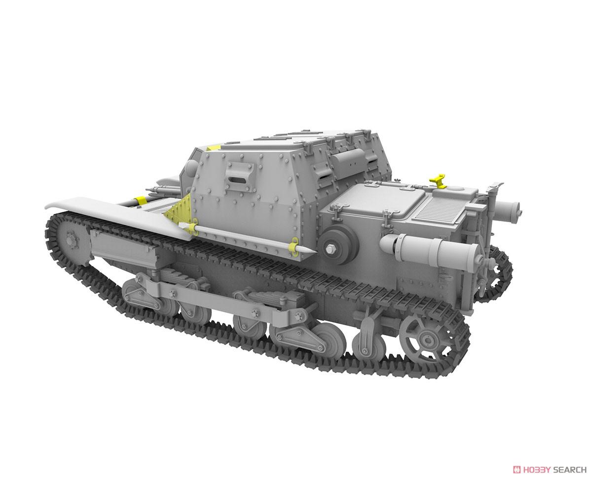 1/35『ハンガリー・CV-35.Mアンシャルド豆戦車&CV-35指揮型』プラモデル-007